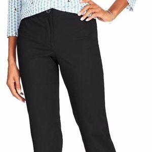 TALBOTS CURVY CROP DRESS PANT